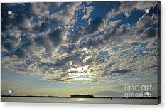 Amazing Cloud Formation Acrylic Print by Cheryl Baxter