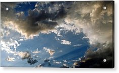 Amazing Sky Photo Acrylic Print