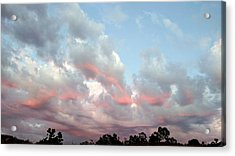 Amazing Clouds At Dusk Acrylic Print