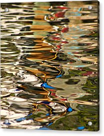 Amazing Color  Acrylic Print by Cayman Ben Lazzara