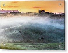Amazing Landscape Of Tuscany Acrylic Print by Evgeni Dinev