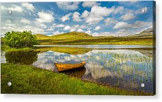 Acrylic Print featuring the photograph Amazing Scotland by Maciej Markiewicz