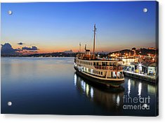 Sunrise Of Istanbul,turkey. Acrylic Print by Mohamed Elkhamisy