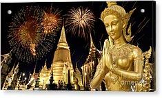 Amazing Thailand Acrylic Print by Anek Suwannaphoom