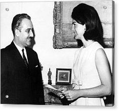 Ambassador Talat Al-ghoussein Of Kuwait Acrylic Print by Everett