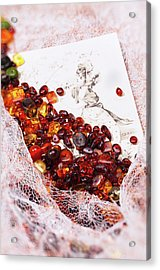 Acrylic Print featuring the photograph Amber #8925 by Andrey  Godyaykin