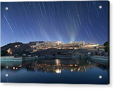Amber Fort After Sunset Acrylic Print