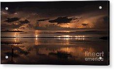 Amber Nights Acrylic Print