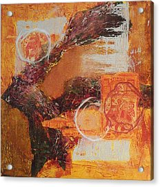 Amber Parade Acrylic Print