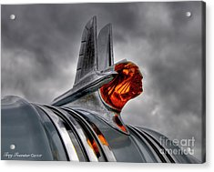 Acrylic Print featuring the photograph Amber Pontiac One by Trey Foerster