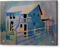 Ambergris Cay Acrylic Print