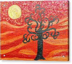Ambient Bliss Acrylic Print by Rachel Hannah