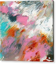 Ambrosia 2- Abstract Art By Linda Woods Acrylic Print