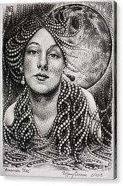 Ambrosia Tide Acrylic Print by Tiffany Carman