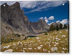 Ambush Peak Acrylic Print