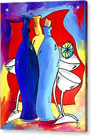 Ameeba 49- Bottles Acrylic Print