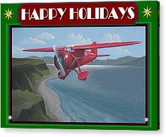 Amelia's Vega Christmas Card Acrylic Print by Stuart Swartz