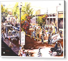 America At Its Best Acrylic Print by Mike Hill