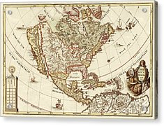 America Borealis 1699 Acrylic Print