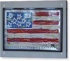 America Edition 1 Acrylic Print by Mac Worthington