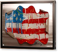 America Edition 2 Acrylic Print by Mac Worthington