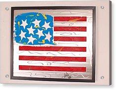 America Edition 3 Acrylic Print by Mac Worthington