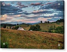 America - Hills Of Virginia 001 Acrylic Print