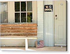 America No Smoking Acrylic Print