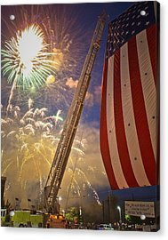 America The Beautiful Acrylic Print by Jim DeLillo
