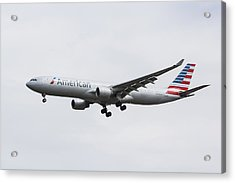 American Airlines Airbus A330 Acrylic Print