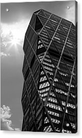 American Architecture Acrylic Print by Martin Newman