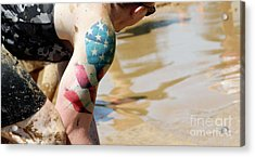 American Arms  Acrylic Print by Steven Digman