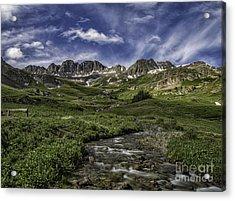 American Basin Trail Head Acrylic Print
