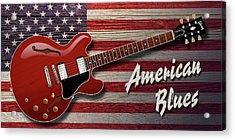 American Blues 335 Acrylic Print
