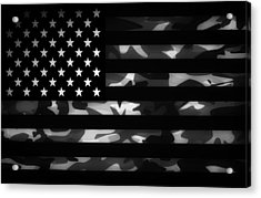 American Camouflage Acrylic Print by Nicklas Gustafsson
