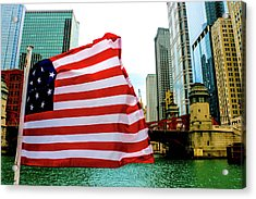American Chi Acrylic Print