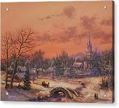 American Classic Acrylic Print by Tom Shropshire