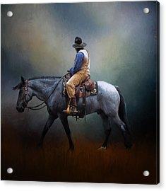 American Cowboy Acrylic Print