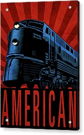 American Acrylic Print by Daviz Industries