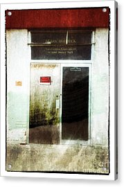 American Decay - Sears And Roebuck  Acrylic Print by Steven Digman