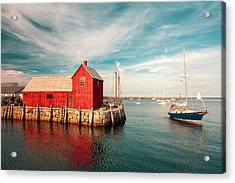 American Fishing Shack Acrylic Print by Todd Klassy