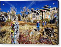 Acrylic Print featuring the photograph American Flat Mill Vc by Scott McGuire