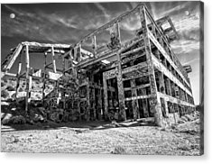 Acrylic Print featuring the photograph American Flat Mill Virginia City Nevada by Scott McGuire