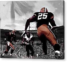American Football  Acrylic Print by Gull G