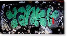 American Graffiti 10- Damn Yankees Acrylic Print
