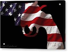 American Gun Acrylic Print