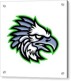 American Harpy Eagle Mascot Acrylic Print