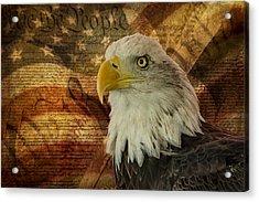 American Icons Acrylic Print by Susan Candelario
