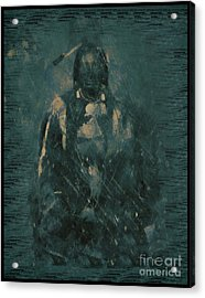 American Indian 1847 Acrylic Print by RJ Aguilar