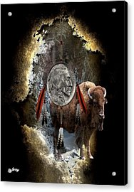 American Indian Dreamcatcher Acrylic Print by G Berry